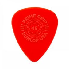 Jim Dunlop Prime Grip Delrin 500 Plectrum Players Pack Red - 12 Pack - .46
