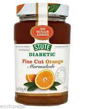 Stute Diabetic Fine Cut Orange Marmalade 430g, No Sugar Added, No Preservatives