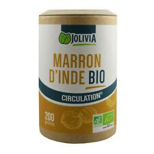 Marron d'Inde Bio - 200 gélules végétales de 225 mg