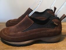 Timberland Womens Size 8 Brown Suede Leather Slip On Shoes Clogs