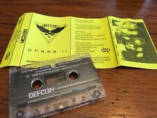DEFCON 1989 PHASE II    DEMO CASSETTE INDIE HAIR METAL AOR  RUDY SARZO