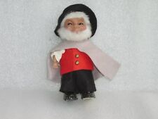 VINTAGE CELLULOID? + PLASTIC CHARACTER? DOLL IN ORIGINAL COSTUME, GERMANY?, 1982
