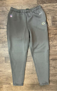 Nike Green Bay Packers Team-Issued Heavy Therma-fit Pants CJ8216 050 LARGE