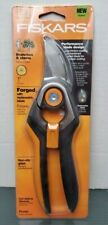 Fiskars Forged Bypass Pruner With Replaceable Blade 9278 NEW Lifetime Warranty
