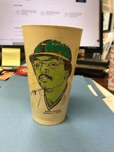 1976 Amoco MSA 7-11 Cup 7 Eleven HOF REGGIE JACKSON Oakland Athletics VERY RARE