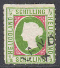 GERMANY HELIGOLAND 1A CDS F SOUND $1,700 SCV