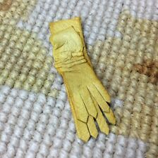 Pat Tyler Dollhouse Miniature Natural Leather Gloves Clothing