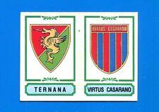 CALCIATORI PANINI 1982-83 Figurina-Sticker n. 562 -TERNANA-CASARANO SCUDETTO-New