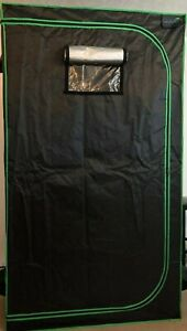 """Quictent SGS Approved Eco-Friendly 48""""x24""""x84"""" Reflective Mylar Hydroponic Grow"""