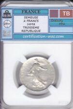 SEMEUSE 2 FRANCS 1898