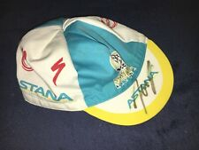 Tour de France ASTANA PRO TEAM Jani Brajkovic Kappe worn signiert RARITÄT