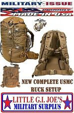 NEW USMC ISSUE Eagle Industries USMC FILBE Pack System Complete Ruck set