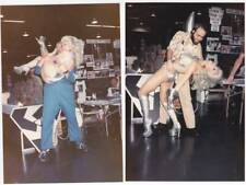 Lot 2: Two ANGELIQUE PETTYJOHN Star Trek convention photos - Ackerman collection