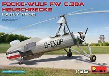 Miniart 1:3 5 Maquette Kit Focke-Wulf C.30A Heuschrecke Tôt MIN41012