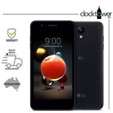 "LG K9 16GB LM-X210JM 5"" 8MP 4GX LTE Black Telstra As New Condition Complete Kit"