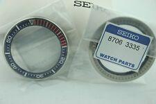 SEIKO SRPB99 PROSPEX PADI SAMURAI BLUE/RED ROTATING  BEZEL 87063335 & GASKET NEW