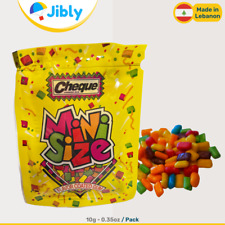 Ÿ‡Ÿ‡ Lebanese Cheque Gum | Fruit Flavor Sweets & Candy | 10G Mini Size Packs