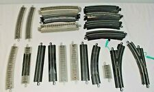 Lot of 48 HO Bachmann EZ Track pieces, switches, switch straight, curve, etc.