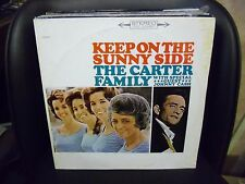 CARTER FAMILY w/ JOHNNY CASH Keep On The Sunny Side LP EX Columbia Special 11303