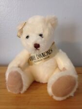 ELIZABETH TAYLOR WHITE DIAMONDS TAYLOR HOUSE TEDDY BEAR PLUSH DOLL FIGURE