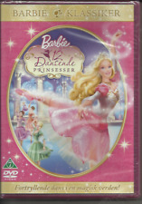 BARBIE: THREE NEW & SEALED DVDS - SWEDISH IMPORTS - PLAY IN ENGLISH