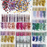 10ml Mermaid Holographic Glitter Chunky Nail Art Face Eye Shadow Body Cosmetic