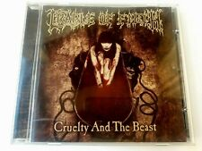 Cradle Of Filth Cruelty And Beast CD 1998 Music Of Nations Made in UK