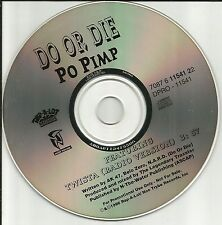 DO OR DIE w/ TWISTA Po Pimp RADIO VERSION PROMO Radio DJ CD Single 1996