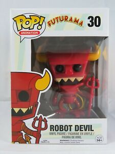 Animation Funko Pop - Robot Devil - Futurama - No. 30 - Free Protector