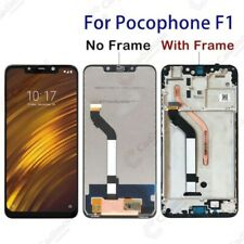 "For Xiaomi Pocophone F1 2018 6.18"" LCD Display Touch Screen Digitizer+Frame AACA"