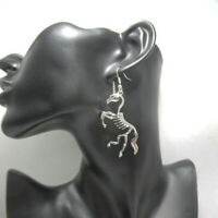 Personality Hyperbole Unicorn Skeleton Drop Earrings Dangle Jewelry For Women