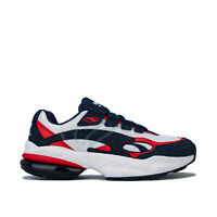 Mens Puma Cell Venom Trainers In Peacoat-High Risk Red
