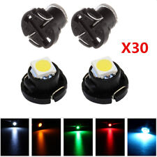 30Pcs T4 T4.2 Neo Wedge 1-SMD LED Cluster Instrument Dash Climate Bulbs Lights