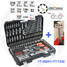 "Ratchet Socket Set 1/2"" 3/8"" 1/4"" 216pcs AS-DRIVE Yato YT-38841 + YT-7220"
