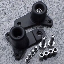 2011-2020 Suzuki Gsxr600 Gsxr750 Gsxr 600 750 Black No-Cut Frame Sliders (Fits: Suzuki)