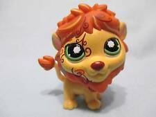 Littlest Pet Shop #944 Tan & Caramel Postcard Lion with Green Eyes 100% Authenti