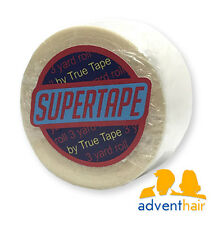 """TRUE TAPE SuperTape Super Roll 1"""" x 3 yards, lace wig toupee hairpiece"""
