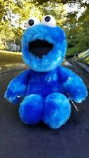 VINTAGE 1988 APPLAUSE SESAME STREET BLUE COOKIE MONSTER PLUSH NEW WITH TAGS