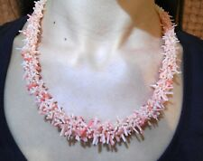 Necklace Hendmade Beaded Bijouterie Beads Natural Stones Coral Beautiful