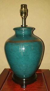 Porcelain Table Lamp Green 3271/3428