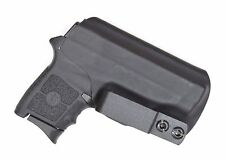 Badger State Holsters- Smith & Wesson Bodyguard IWB Tuckable Black Custom Kydex