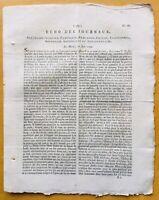Rare Journal de la Révolution Française 1792 Grenoble L'Echo des Journaux