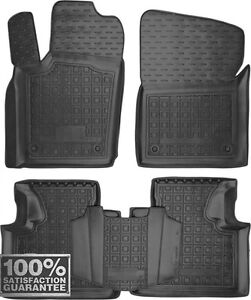 Rubber Carmats for Jeep Grand Cherokee WL 2013- All Weather Floor Tailored Mats