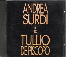 "ANDREA SURDI e TULLIO DE PISCOPO - RARO CDs 1994 "" I TAMMURI """