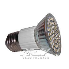 Bombilla LED E27 3200k Bajo Consumo Rosca E27 60 LED d117