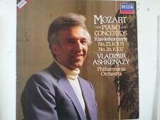 LP MOZART piano concertos No 25+26 Vladimir Ashkenazy