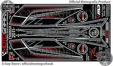 Kawasaki Z1000SX 2011 Rear Fairing Number Board Motografix 3D Gel Protector