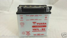 BATTERIE YUASA YB7L-B2 longueur 135 largeur 75 h 133 mm