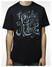 MARC ECKO streetwear graphic t-shirt S M uomo TRUE REBELS Always Walk Alone NWT