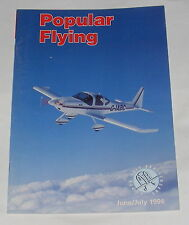 POPULAR FLYING MAGAZINE  JUNE/JULY 1996 - KIS-AND-TELL